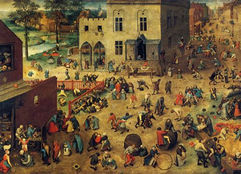 the bruegels lives and children and youth in history pieter bruegel the elder s quot children s games quot painting