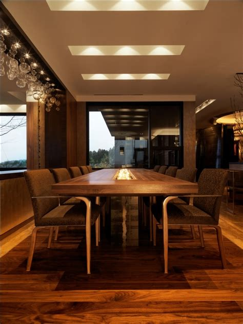 glass conference table dining room contemporary with area