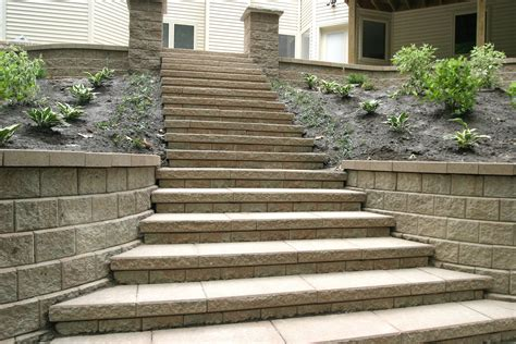 Retaining Wall Stairs Design Remarkable Retaining Wall Ideas Improve The Of Your Front Yard Traba Homes