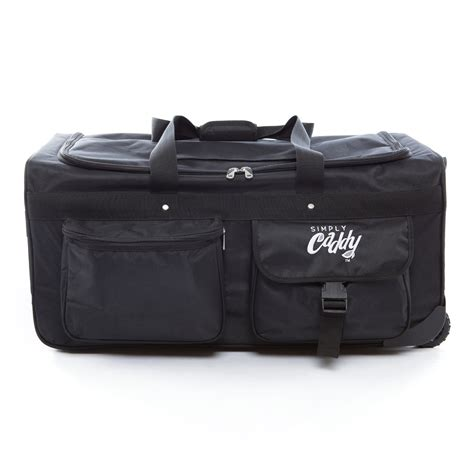 Duffel Bag With Garment Rack by The Caddy Bag Is The Ultimate Duffel With Wheels And A