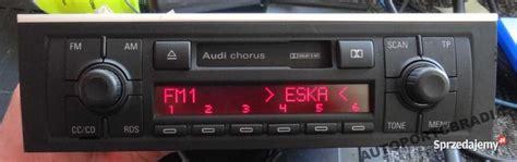 Radio Chorus Audi by Sprzedam Radio Audi Chorus Ii Sprzedajemy Pl