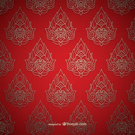 thai pattern history thai pattern vector free download