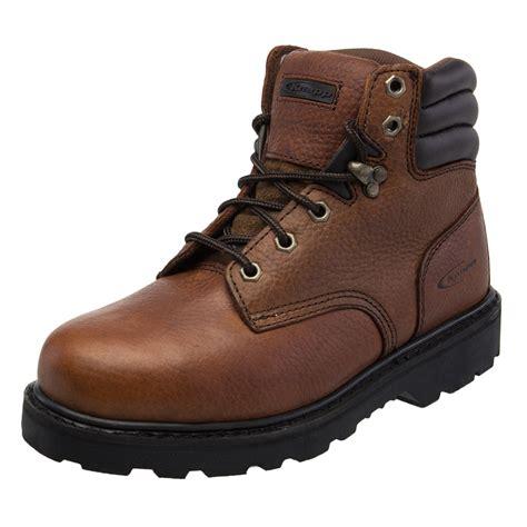 knapp boots mens knapp backhoe steel toe leather mens work boot