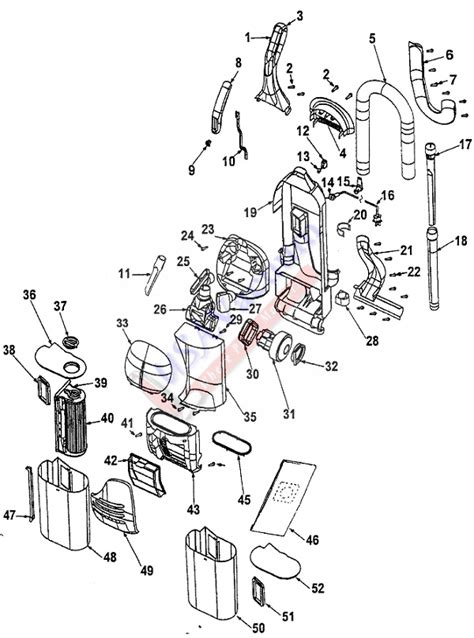 shark navigator parts diagram shark navigator vacuum parts diagram shark nv355