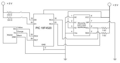 eeprom circuit diagram gt circuits gt data logging with an eeprom l28160 next gr