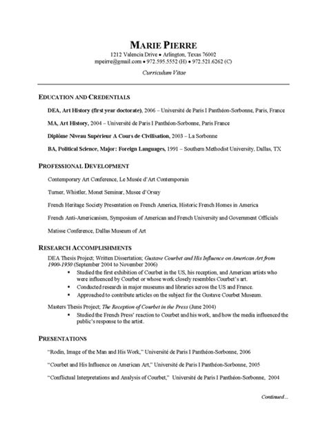 researcher cv exle cv exles and resume exles