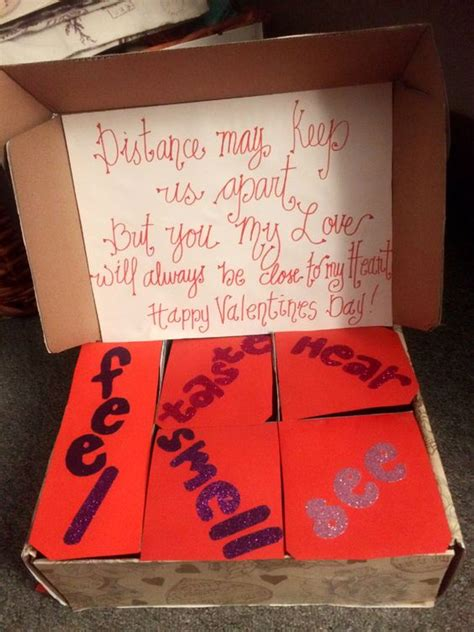 diy valentine gifts ideas   long distance