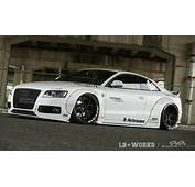 Liberty Walk Develops Crazy Wide Kit For Audi A5
