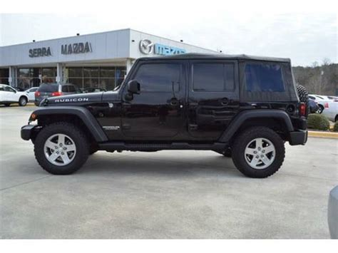 Jeeps For Sale Birmingham Al 2011 Jeep Wrangler Unlimited Rubicon For Sale In