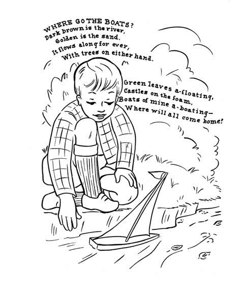 printable children s nursery rhymes nursery rhymes coloring pages coloring kids