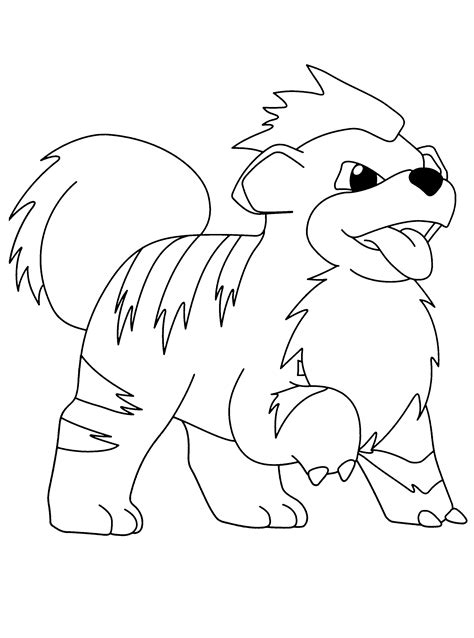 pokemon coloring pages dog cute pokemon coloring pages images pokemon images