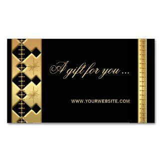 gift certificate template business card size 67 best business cards images on