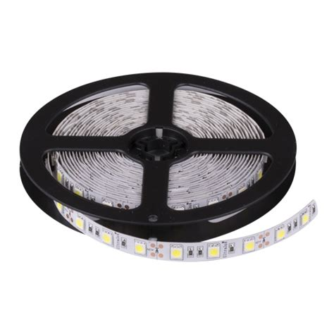 Lu Led Rol Led Smd5050 Neutral White 24v Dc 60leds M 5m Roll Non Waterproof Ultralux