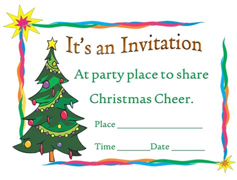 christmas invite template microsoft word printable invitation template