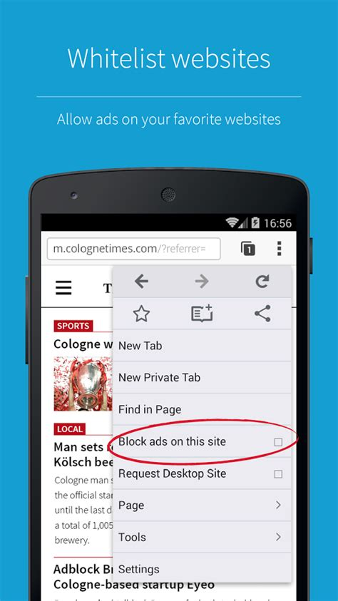 ad block android adblock browser for android now officially available in the play store android authority
