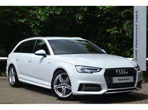 Used Audi Car Leasing Deals Used Audi A4 Avant 2 0 Tdi 150 Ps S Line Avant For Sale