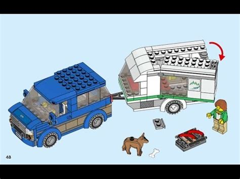 60117 Lego City And Caravan 2016 lego city caravan 60117