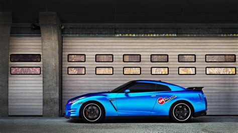 nissan blue car nissan gt r blue car side view wallpaper cars