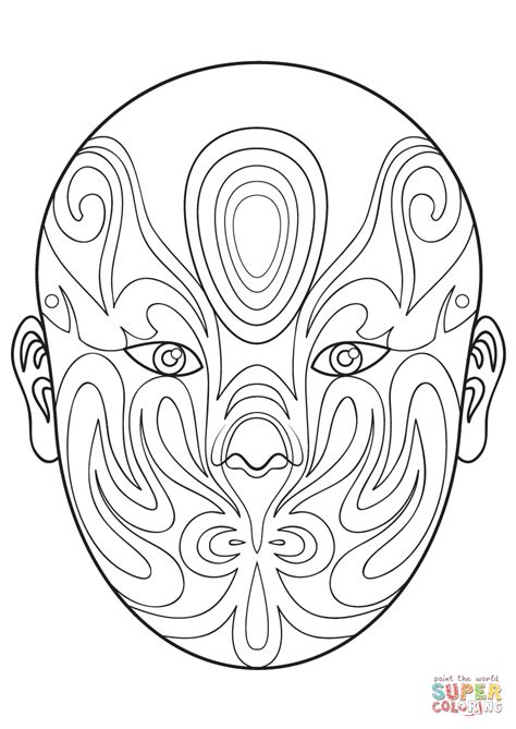 new year mask to color mask coloring pages large size of coloring