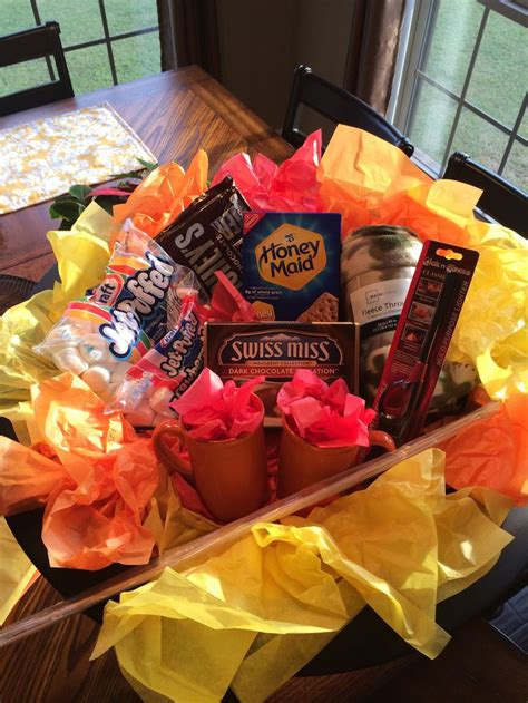 backyard gifts fire pit backyard bonfire gift basket good for a silent