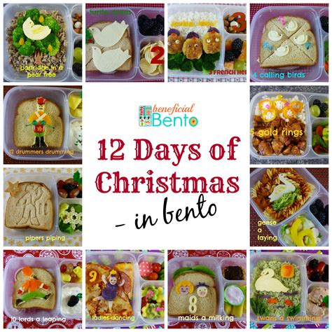 The 12 Days Of the 12 days of in bento beneficial bento