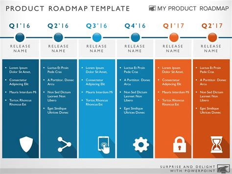 ppt templates for roadmap six phase development planning timeline roadmapping