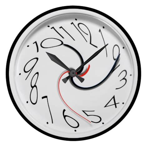 100 best made wall clock 8 clever christmas traps funny novelty style large clock zazzle