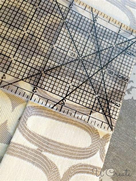drapery tutorial ribbon tabbed curtain tutorial u create