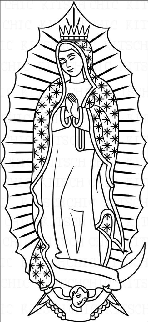 La Virgen De Guadalupe Coloring Pages Az Coloring Pages Our Of Guadalupe Coloring Page
