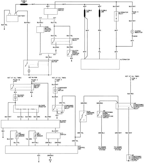 alternator wiring diagram with regulator