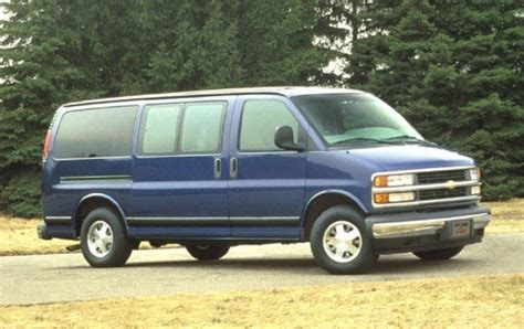 1996 chevrolet express information and photos zombiedrive