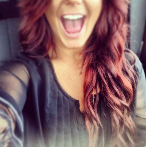 what color is chelsea houska red hair teen mom week in review maci gets patriotic catelynn