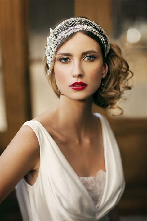 1920 bridal hair styles wedding hairstyles 1920s behairstyles com