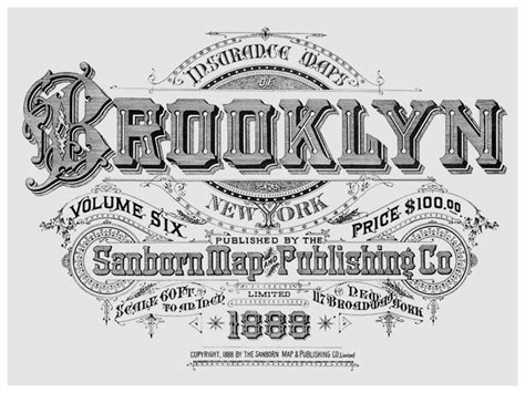 typography nyc the typography of sanborn new york city maps