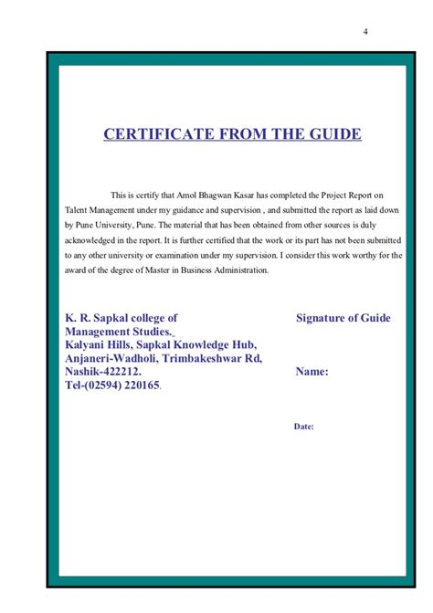 Mba In Procurement Management In India by Thesis On Talent Management In India