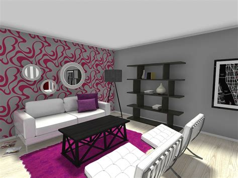 wallpaper accent wall for creative living room ideas 8 expert tips for small living room layouts roomsketcher