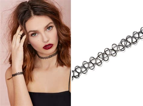 tattoo necklace history trend hungry tuesday choker necklaces blog by jessie