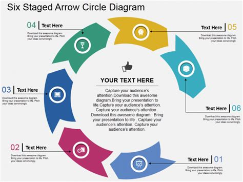 Powerpoint Tutorial 5 Simplest Way To Create Circular Arrows In Powerpoint The Slideteam Blog Arrow Powerpoint Template