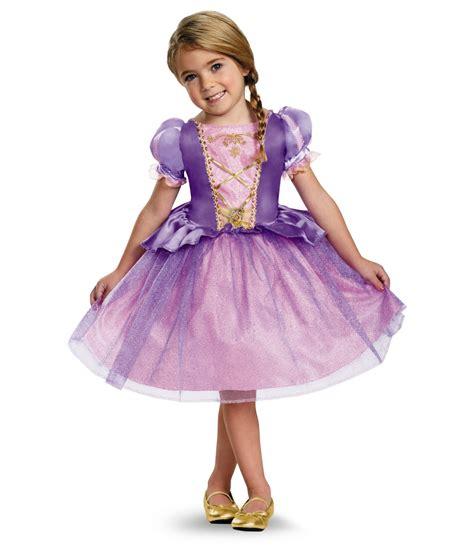 kids disney rapunzel girls classic dress costume
