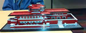 terrific fibers robie house in lego s and a new idea