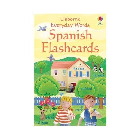 libro everyday words in spanish everyday words spanish flashcards english wooks