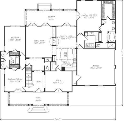 southern living floorplans new merry oaks architect southern living house plans house plans