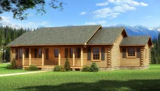 Single Story Cabins Gallery For Gt One Story Log Home Plans