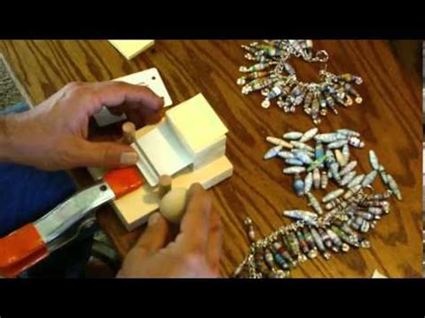 Paper Bead Machine - paper bead roller rolling machine simple and controlled