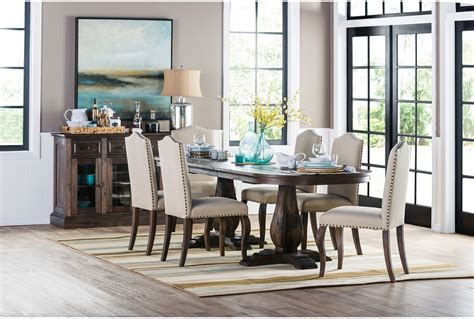 living spaces dining room sets fearsome on home furniture