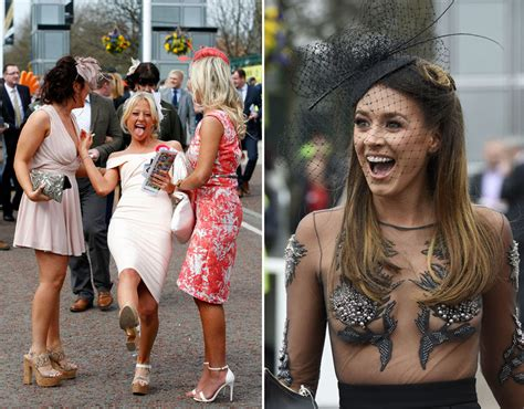 when is national short girl day 2016 crowds arrive at aintree for ladies day grand national