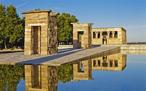 temple of debod madrid spain temple of debod in parque de la montana photo gallery guides