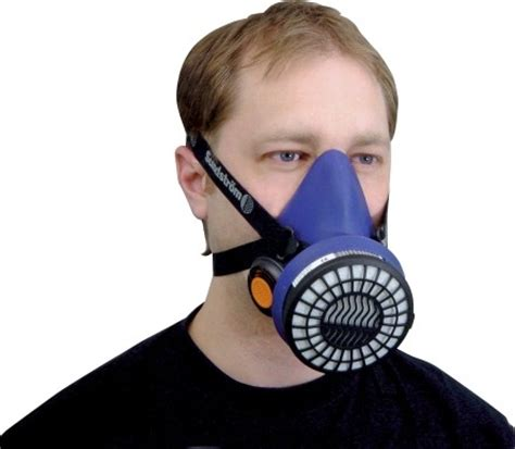 sundstrom sr100 half mask silicon re useable respirator mask