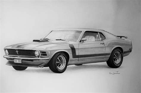 mustang drawing ford mustang 302 drawing by per svanstrom on deviantart