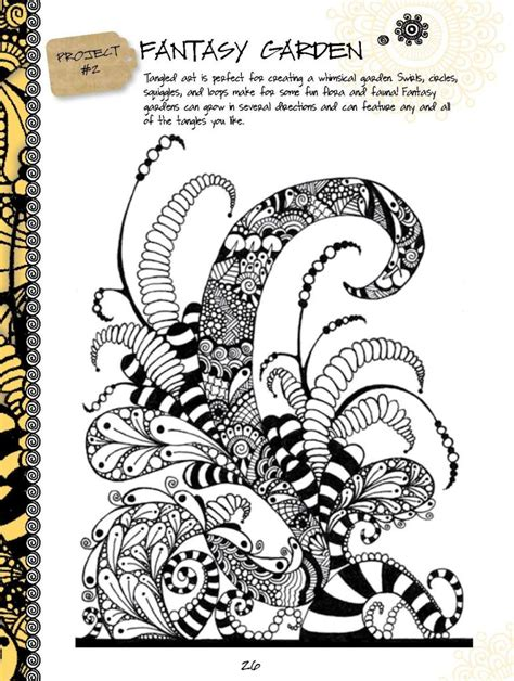 how to use doodle kit the of tangling drawing book kit inspiring drawings